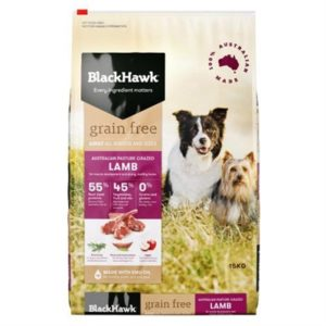 Black Hawk Adult Dog Food Grain Free Lamb 15kg