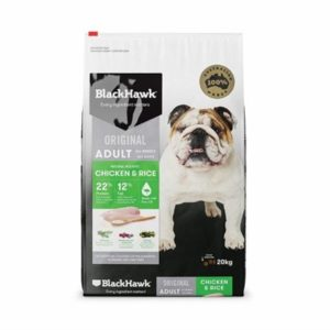 Black Hawk Dog Food Adult Chicken and Rice 20kg