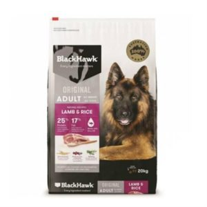 Black Hawk Dog Food Adult Lamb and Rice 20kg
