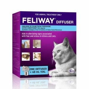 Feliway Cat Diffuser and Refill Set 1 Diffuser + 48ml