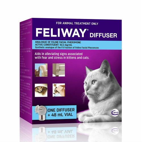 Feliway Cat Diffuser and Refill Set 1 Diffuser + 48ml
