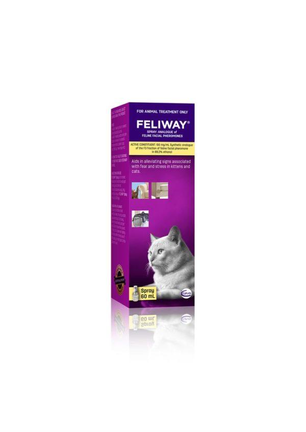 Feliway Pheromone Spray for Anxious Cats - 60ml