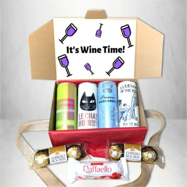 It's Wine Time Gift Box