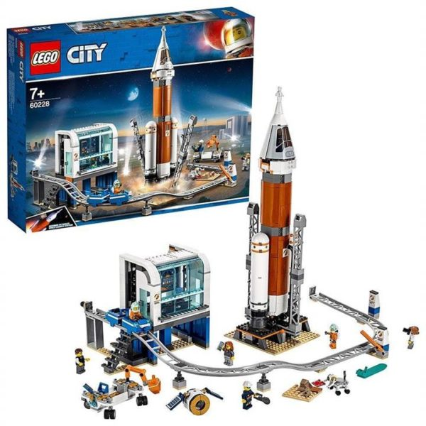 LEGO City Deep Space Rocket and Launch Control 60228