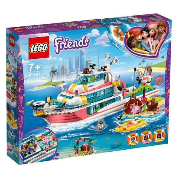 LEGO Friends Rescue Mission Boat - 41381