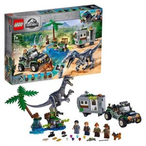 LEGO Jurassic World Baryonyx Face-Off The Treasure Hunt 75935