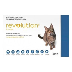 Revolution for Cats (Blue) 3 Pack