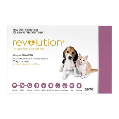 Revolution for Cats For Kittens (Pink) 1 Pack