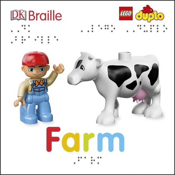 DK Braille LEGO DUPLO Farm