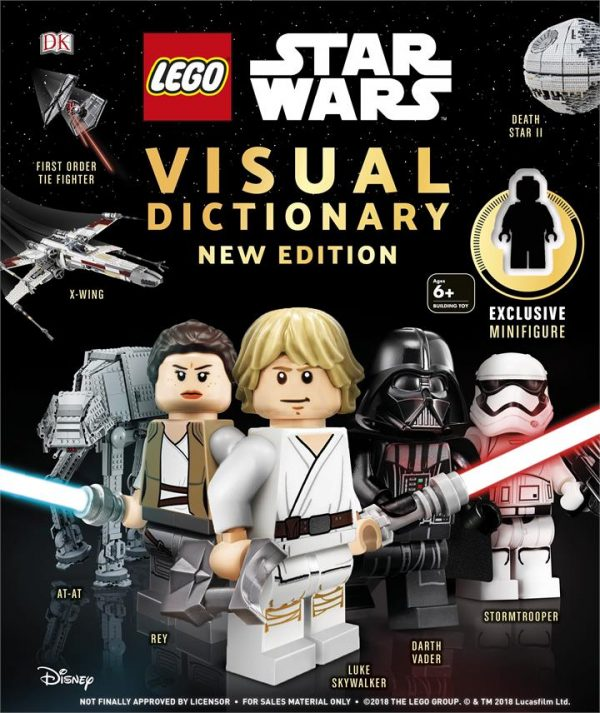 LEGO Star Wars Visual Dictionary New Edition