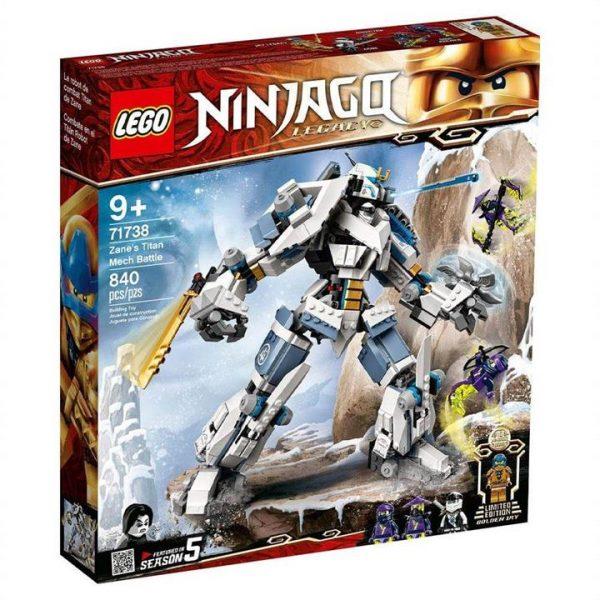 LEGO Ninjago Zanes Titan Mech Battle 71738