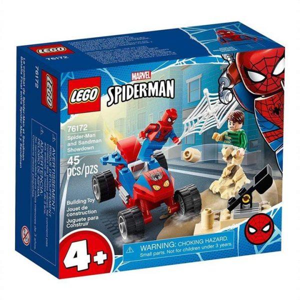 LEGO Spider-Man and Sandman Showdown 76172