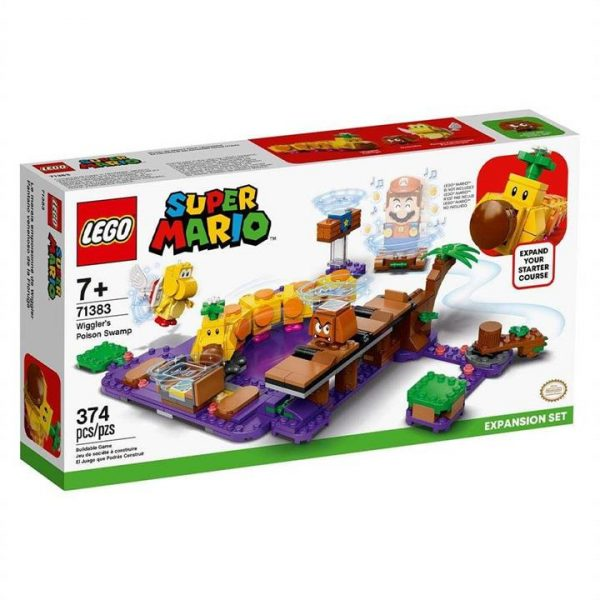LEGO Super Mario Wigglers Poison Swamp Expansion Set 71383